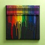 Canvas Crayon Art