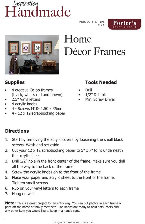 HomeDecorFrames