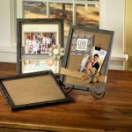 Burlap Wood Frame