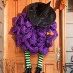 Halloween DecoMesh Wreaths