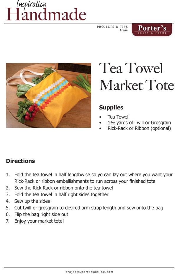 TeaTowelMarketTote