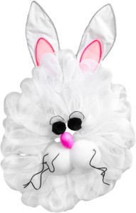 Geo-mesh Easter Bunny
